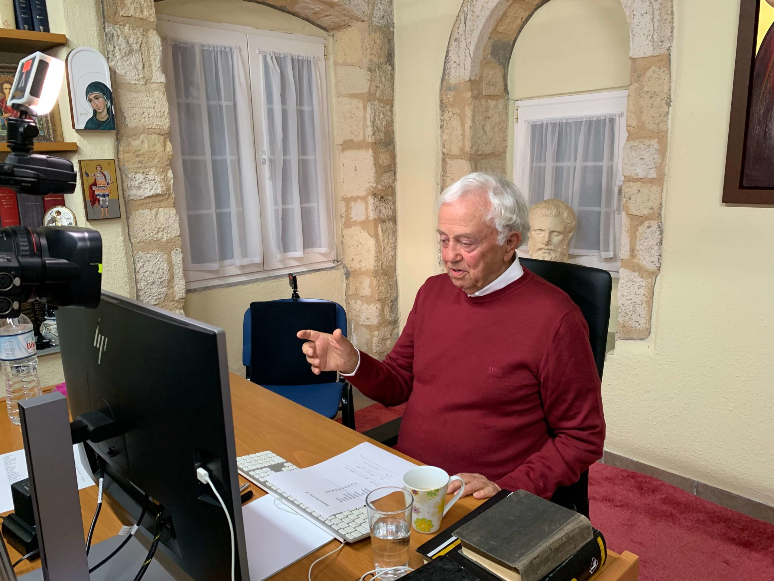 A MEMORABLE RENDEZVOUS WITH PROF. GEORGE VITHOULKAS
